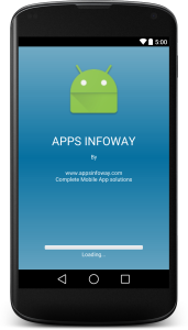 How to implement a  Splash  screen  with a Progress   Bar in Android: